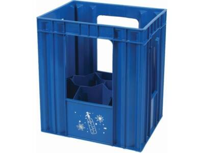 Crate for sparkling water