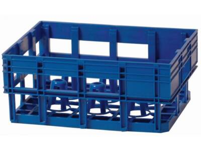 Crate for dairy products code 71