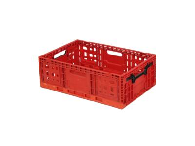 Collapsable crate