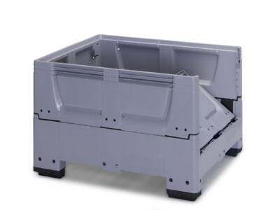 Collapsible box pallets