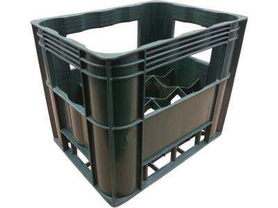 Crates for wine and water